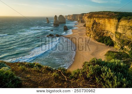 Great Ocean Road Spectacular Cliffs And View From The Twelve Apostles