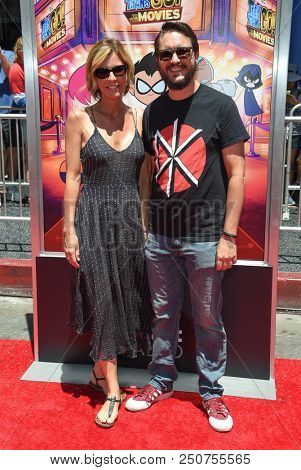 LOS ANGELES - JUL 22:  Wil Wheaton and Anne Wheaton arrives to the