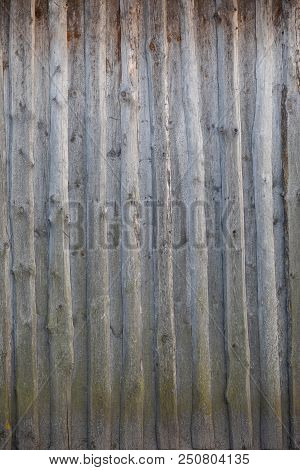 Rusted And Faded Red Ridged Metal Background