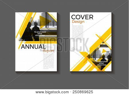 Yellow Design  Modern Abstract Layout Background Modern Cover Book Cover Brochure Cover  Template,an