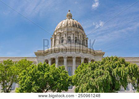 Missouri State Capital Building In Jefferson City, Missouri