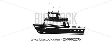 Fishing Boat Charter Deep Sea Ocean Salt Water Fishing