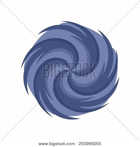 Tornado Icon. Flat Illustration Of Tornado Vector Icon For Web Isolated On White