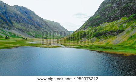 The Amazing Scottish Highlands - Glencoe Valley In Scotland
