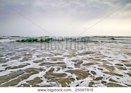 Open Ocean View From Water