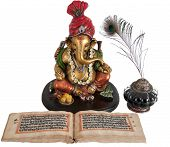 Statue of Lord Ganpati, a Hindu God in Indian mythology. poster