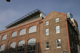 Old Warehouse Converted To Modern Apartments