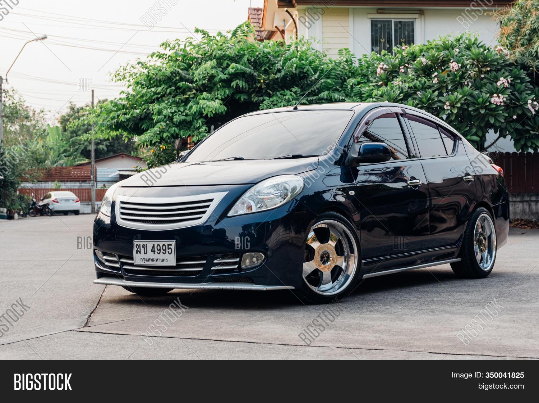 Nissan Almera Eco Car Image Photo Free Trial Bigstock