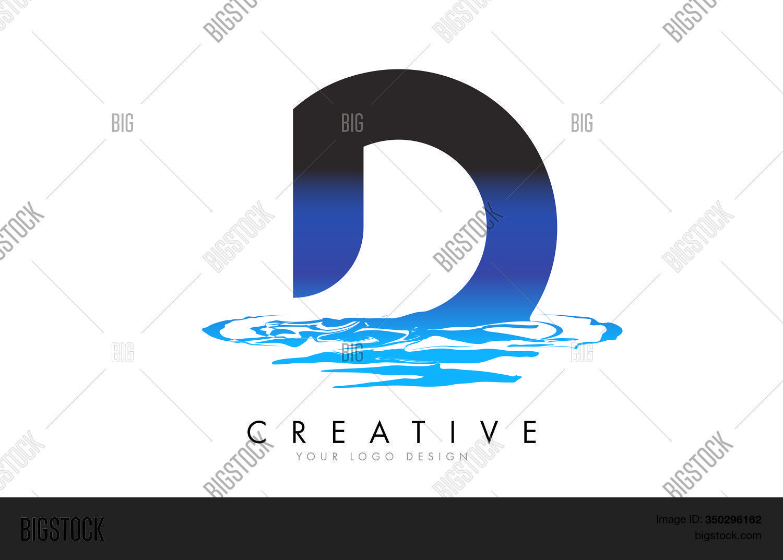 D Letter Logo Design Vector Photo Free Trial Bigstock