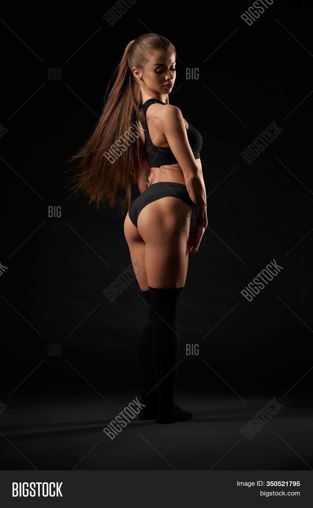 Ponytails And Black Panties HD