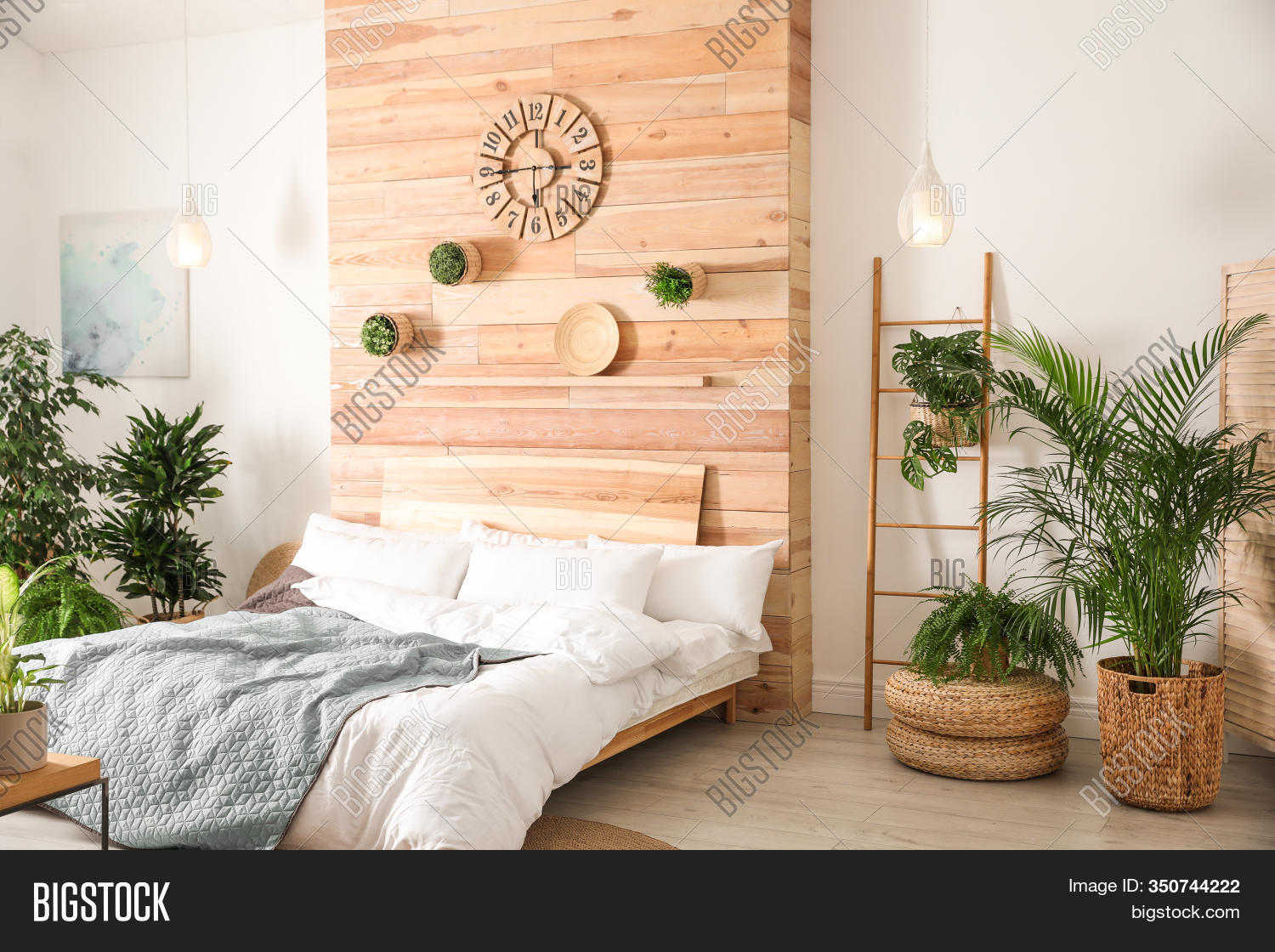 Stylish Bedroom Image Photo Free Trial Bigstock