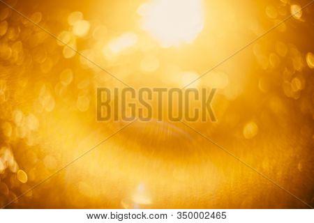 Nature Sun Light Bokeh Abstract Background.