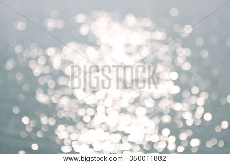 Abstract Soft Blue Bokeh Background, Copy Space,abstract Wallpaper,de Focus,blurry Pattern