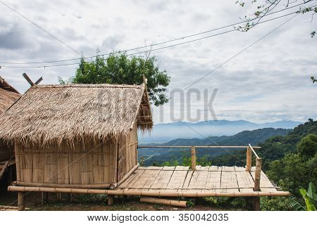 This Place Is Located On Doi Tung, A Popular Viewpoint And Tourist Attraction In Chiang Rai Province