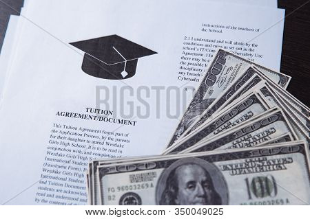Tuition Fee Or Student Loan With Calculator. Education Price , Savings Fund College, And Expenses Co