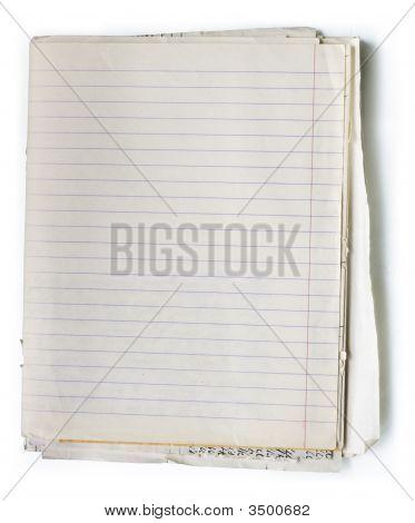 alte Notizbuch