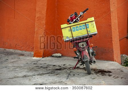 Old Scooter For Deliveries