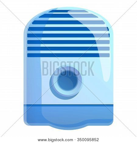 Climate Air Purifier Icon. Cartoon Of Climate Air Purifier Vector Icon For Web Design Isolated On Wh