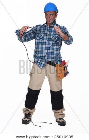 Unintelligent electrician