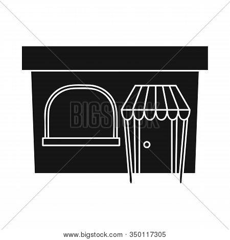 Vector Design Of Bookstore And Modern Logo. Set Of Bookstore And Shop Vector Icon For Stock.