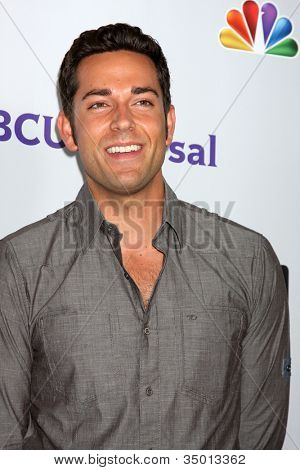 LOS ANGELES - AUG 1:  Zachary Levi arriving at the NBC TCA Summer 2011 Party at SLS Hotel on August 1, 2011 in Los Angeles, CA