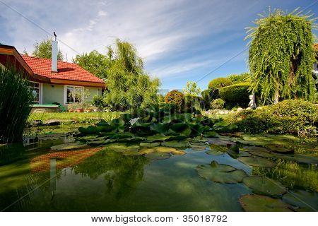 Slovakia house and garden