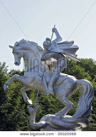 Saint George On The Hourse Win The Evil
