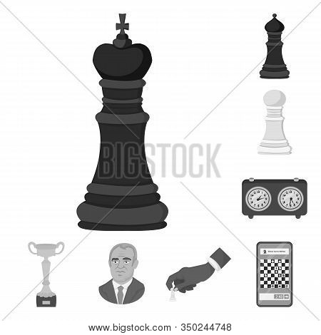 Isolated Object Of Tactical And Play Icon. Collection Of Tactical And Thin Stock Vector Illustration