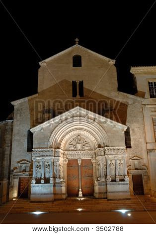 Cathedral In Arles