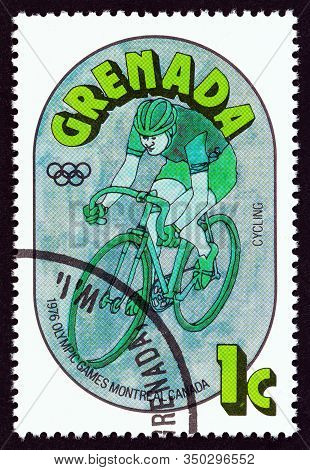 Grenada - Circa 1976: A Stamp Printed In Grenada From The