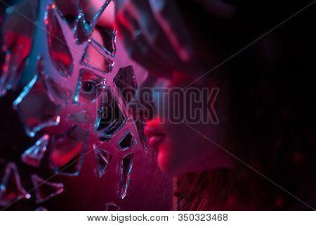 Occult Witchcraft Broken Mirror Mystery Astrology Mirror Mysticism