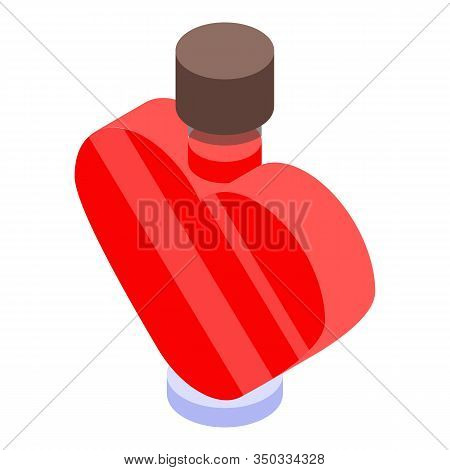 Love Potion Icon. Isometric Of Love Potion Vector Icon For Web Design Isolated On White Background