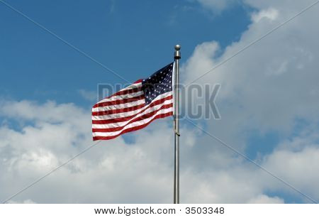 Flying The American Flag