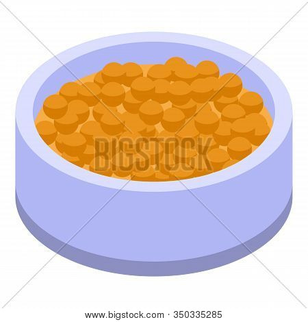 Mustard Balls Icon. Isometric Of Mustard Balls Vector Icon For Web Design Isolated On White Backgrou