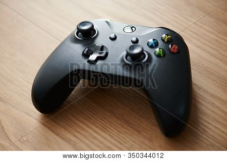 Black Color Xbox Game Pad