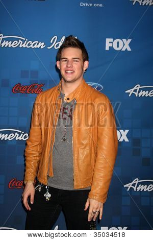 LOS ANGELES -  3: James Durbin arrives at the American Idol Season 10 FInalists Party at The Grove on March 3, 2011 in Los Angeles, CA