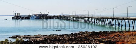 Port Pier at Broome panorama