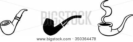 Cigar Icon Isolated On White Background  Toxic, Unhealthy, Unhygienic, Unwell