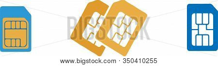 Sim Card Icon Isolated On Background  Specification, Specifications