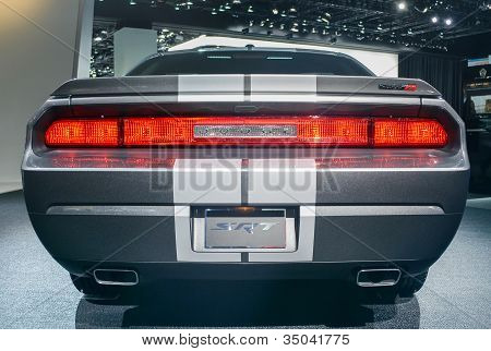 2012 Dodge Challenger SRT