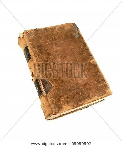 19Th Century Encylopedia With Clipping Path