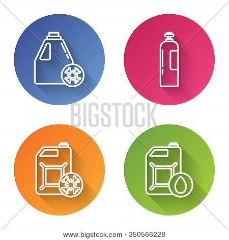 Set Line Antifreeze Canister, Industrial Gas Cylinder Tank, Antifreeze Canister And Canister For Mot