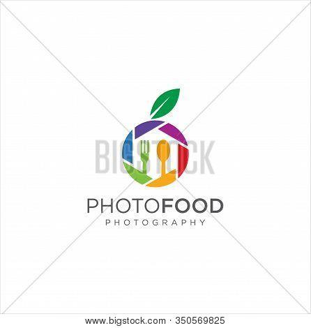 Food Photography Logo Template . Food Photo Logo . Elegant, Personable, Club Logo Design For Food Ph