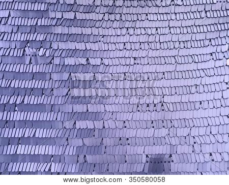 Rectangle Glitter Violet Sequin Texture And Textile