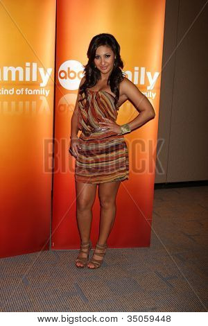 LOS ANGELES - MAY 14:  Francia Raisa at the Disney ABC Television Group May Press Junket 2011 at ABC Building on May 14, 2011 in Burbank, CA