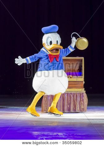 Donald Duck On Skates
