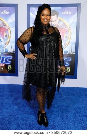 LOS ANGELES - JAN 12: Natasha Rothwell at the Sonic The Hedgehog Special Screening at the Regency Village Theater on February 12, 2020 in Los Angeles, California