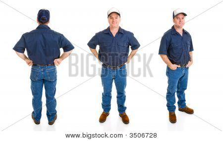 Blue Collar Man - tres perspectivas