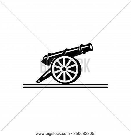 Inspiration Cast-iron Cannon Icon,simple Logo  Of Cast-iron Cannon Icon For Web.
