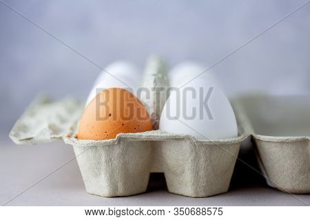 Eggs In A Box Of Different Colors. Protein. Healthy Foods. Healthy Food. Eggs For Breakfast. Eggs In